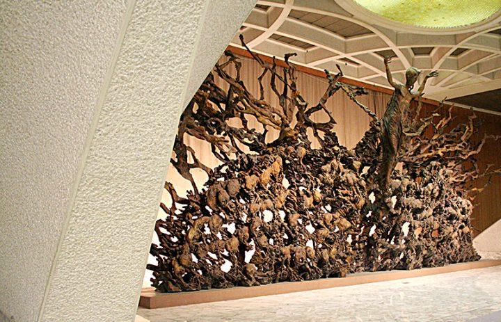 RESURREZIONE AULA PAOLO VI ISPEZIONE VISIVA 01 09 2011 (91)